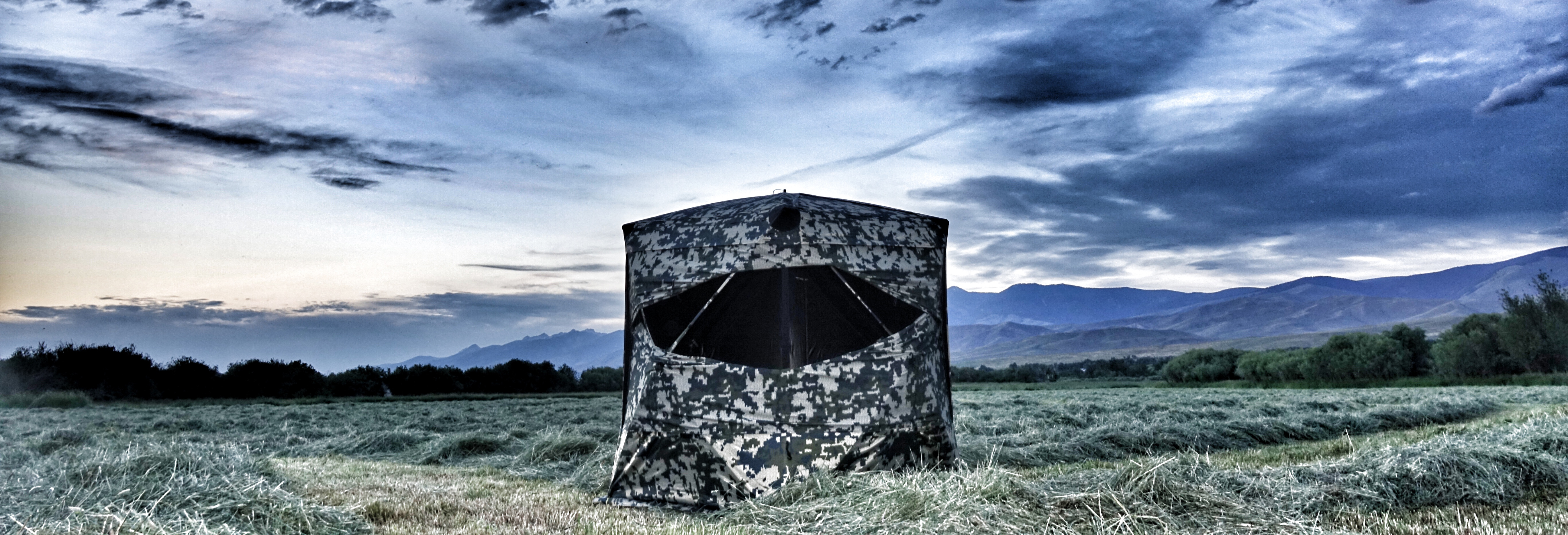 Xenek - Apex Ground Blind (with Backpack)