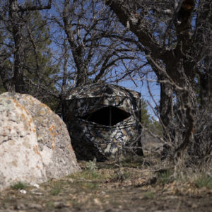 ASCENT Ground Blind (w/ Backpack) - DSX Camo